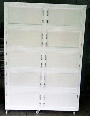 tủ nhôm trưng bày