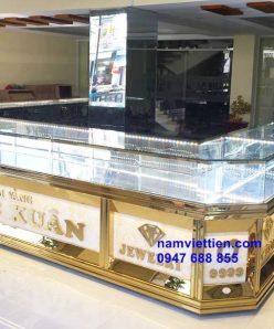 thiết kế tiệm vàng