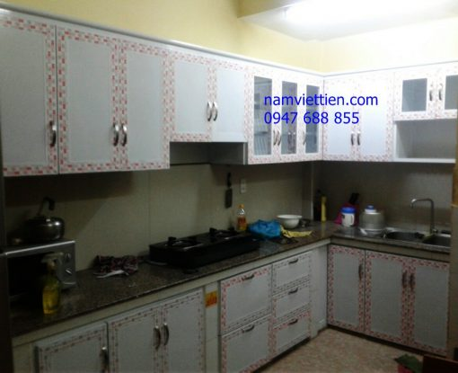 cac laoi tu bep nhom kinh 510x415 - Tủ bếp nhôm kính hiện đại 2019