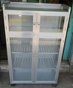 DSC01665 248x298 - Các loại tủ đựng chén nhôm kính giá rẻ