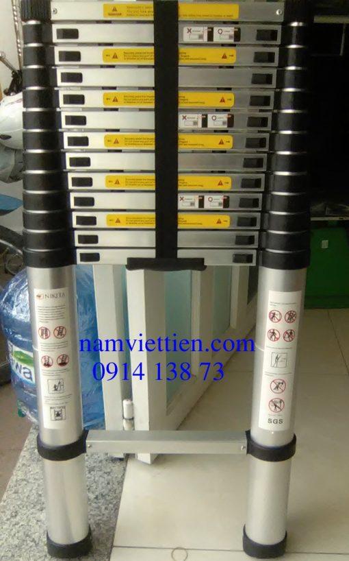 thang nhom rut don chinh hang gia re hcm 510x818 - Thang nhôm rút đơn Hakawa HK-141 chính hãng giá rẻ