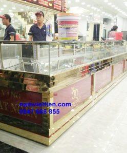 tu ban vang bac cao cap inox tphcm 248x298 - Cửa hàng làm tủ bán vàng nhôm kính cao cấp