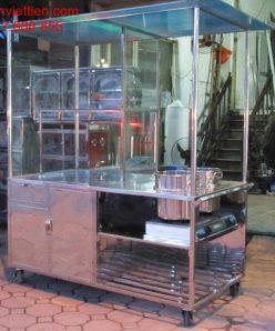 tu ban pho bang inox 1 248x298 - Cửa hàng xe bán phở bằng kính nhôm inox